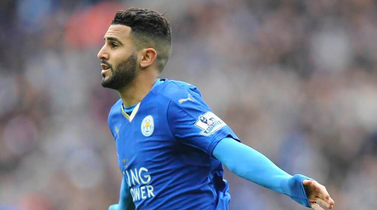 riyad mahrez, leicester city, mahrez leicester, english premier league, football news, sports news, indian express
