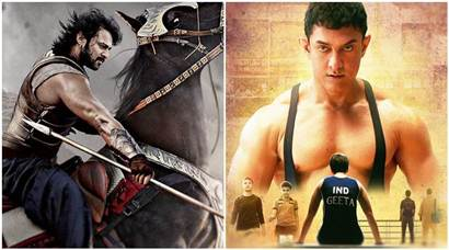 Baahubali 2, dangal, ss rajamouli, aamir khan, Baahubali 2 vs Dangal, dangal vs baahubali 2, Baahubali collection, Baahubali 2 box office collection, dangal box office collection, dangal total collection, dangal china collection, Baahubali 2 china, dangal china, entertainment news, indian express, indian express news