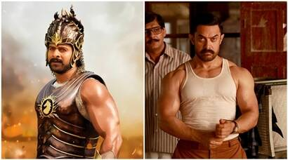 Dangal, aamir khan, baahubali 2, baahubali 2 collection, Dangal collection, Dangal box office collection, Baahubali 2 box office collection, dangal vs baahubali 2