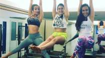 Sara Ali Khan works out with Kareena Kapoor's bestie Malaika Arora. See their photo direct from the gym