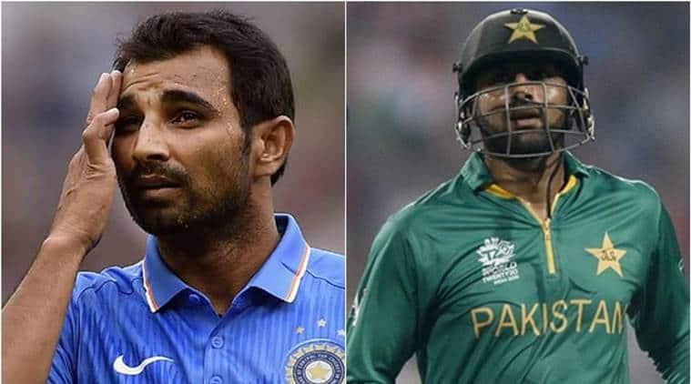 icc champions trophy, india vs pakistan, ind vs pak, india champions trophy, mohammad shami, shami, shoaib malik, cricket news, cricket, sports news, indian express