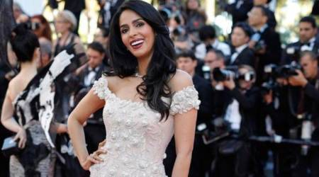 Mallika Sherawat shares her photos and videos from opening night festival at Cannes 2017