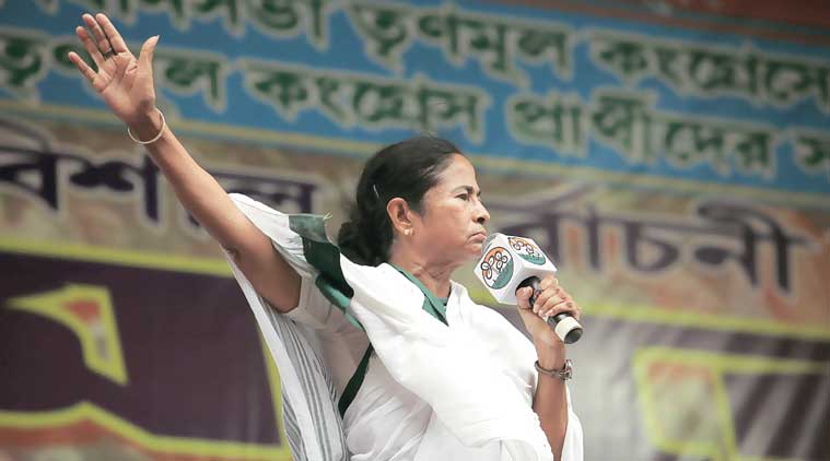 WB CM Mamata Banerjee, Mamata Banerjee, Bengal civic polls, TMC, West Bengal Lok Sabha Polls, West Bengal civic polls, Indian Express, Indian Express News