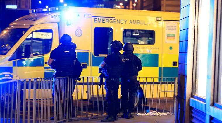 manchester attack, manchester blast, britain terrorist attack, pranab mukherjee, terrorism, manchester suicide bomb attack, united kingdom, theresa may, jeremy corbyn, ariana grande, manchester arena, world news, indian express