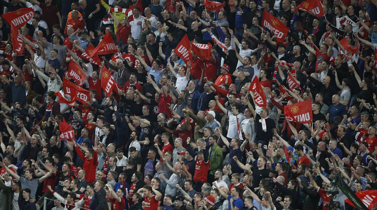 Manchester United Fans Celebrate Europa League Triumph After Tragedy Sports News The Indian Express