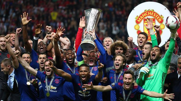 manchester united, united, manchester united vs ajax, manchester united europa league, manchester united paul pogba. pogba, henrikh mkhitaryan, wayne rooney, football news, sports news, indian express