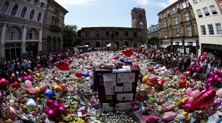 Manchester, manchester attack, manchester terror attack, ariana grande, ariana grande concert attack, UK, britain, latest news, latest india news, indian express