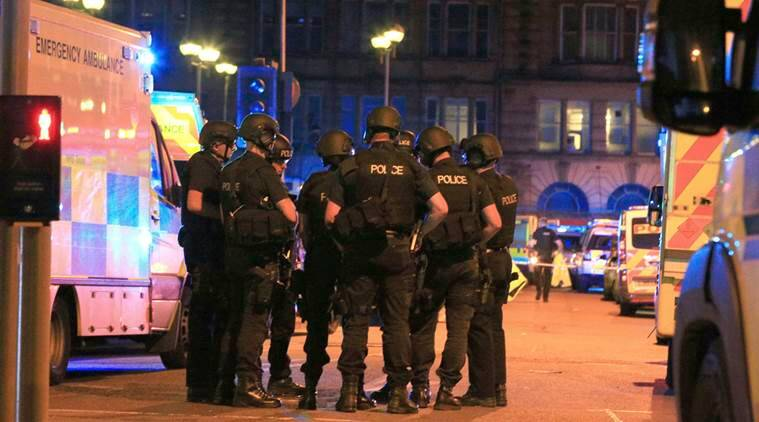 manchester attack, manchester blast, britain terrorist attack, terrorism, manchester suicide bomb attack, united kingdom, theresa may, jeremy corbyn, ariana grande, manchester arena, world news, indian express