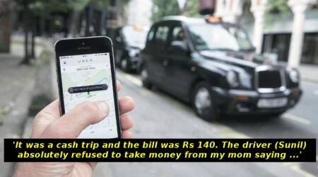 Mangaluru cab driver's kind gesture for this woman's parents will leave you speechless