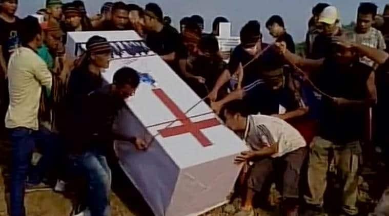 Manipur, Manipur violence, Manipur burial, churachandpur burial, Manipur tribals buried, manipur protestors buried, manipur news, manipur violence, india news, indian express news