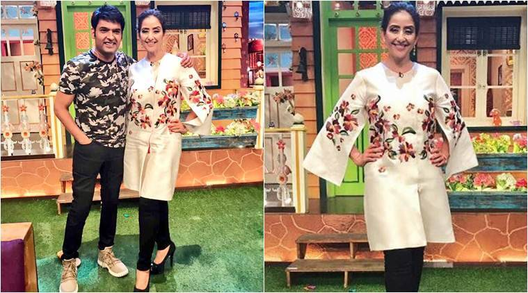 manisha koirala, kapil sharma, manisha koirala kapil sharma, the kapil sharma show image