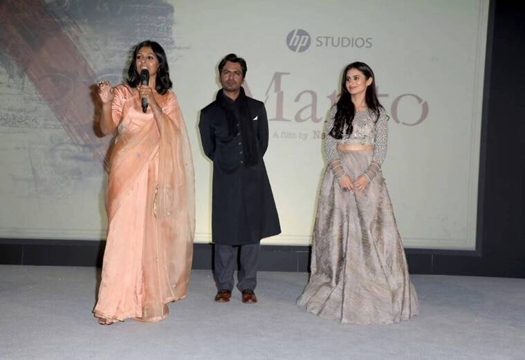 manto, manto cannes, manto team, manto pics, manto poster, manto film, cannes manto, manto nandita das, manto nawazuddin siddiqui, manto rasika dugal, entertainment news, bollywood updates, indian express