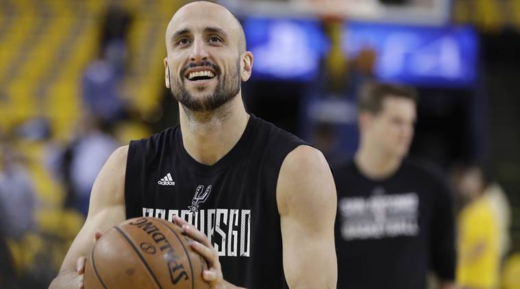 Manu Ginobili, San Antonio Spurs, Gregg Popovich, Western Conference Finals, Golden State Warriors, sports news, basketball news, indian express