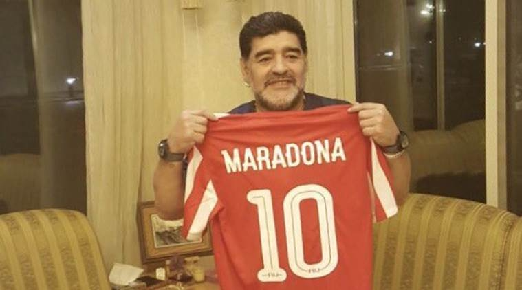 diego maradona, maradona, maradona coach, diego maradona uae, football news, sports news, indian express