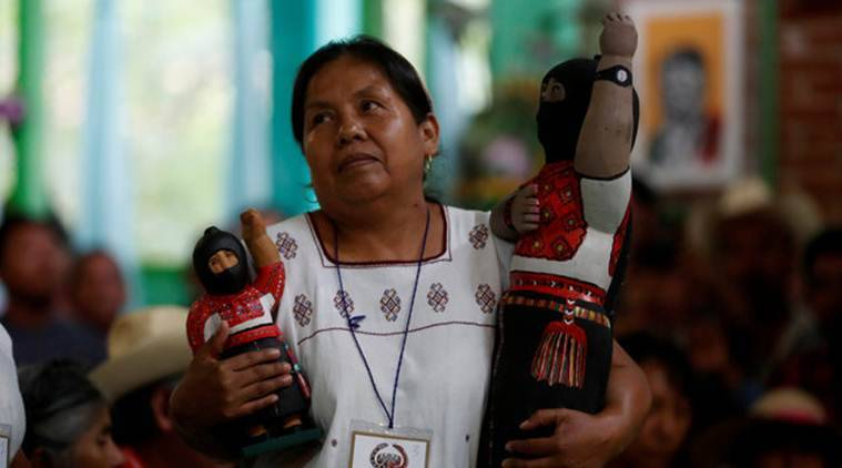 Mexico, mexico presidential elections, mexico presidential candidate, Zapatista rebels, nahua woman, mexico news
