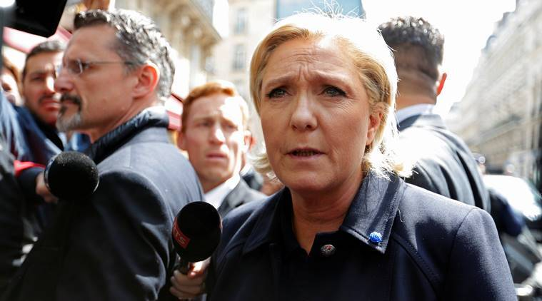 Le pen, marine le pen, Emmanuel Macron, France presidential elections, Le pen EU, France exit, France EU, european union, french elections, france polls, latest news, latest world news