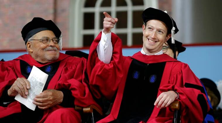Image result for zuckerberg harvard commencement