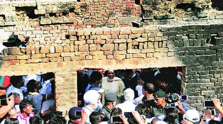 Mayawati, Mayawati-Yogi, Yogi Adityanath, Adityanath, Mayawati slams BJP, UP violence, Saharnpur violence, Mayawati on Saharanpur clashes, indian express news