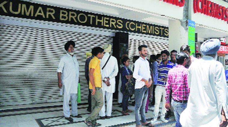 chemist strike may 30, chandigarh chemist association, aiocda, all india org of chemists and drug association, chandigarh chemist strike, chandigarh news, indian express