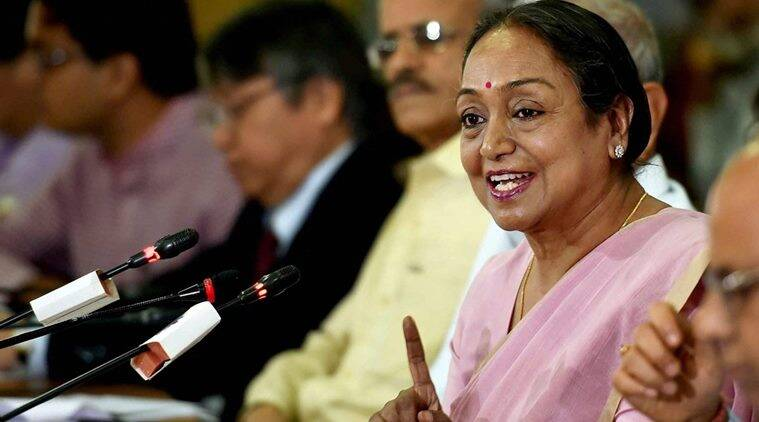 Meira Kumar, Presidential election 2017, Presidential election Meira Kumar, Presidential election Ram Nath Kovind, Indian express, India news, Latest news