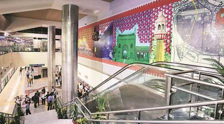 Delhi Metro takes the heritage route — both inside and outside its stations