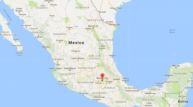 Mexico, Mexico coast, hurricanes, tropical storm, Pacific Ocean, US National Hurricane Center, weather forecast, World News, Indian Express News