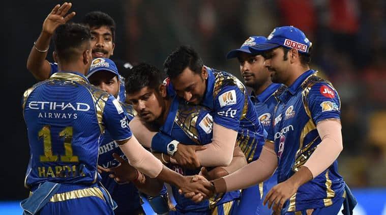 Karn Sharma, krunal Pandya, MI vs KKR< Mumbai vs Kolkata, Mumbai indians vs Kolkata Knight Riders, Mumbai vs Pune, Mumbai Indians vs Rising Pune Supergiant, IPL 2017, IPL, Cricket news, Cricket, Sports, Indian Express