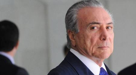 Vote nears on corruption trial for Brazil President Michel Temer