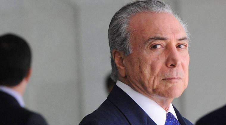 brazil news, michel temer news, world news, indian express news