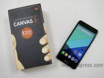 Micromax Canvas 2: Unboxing