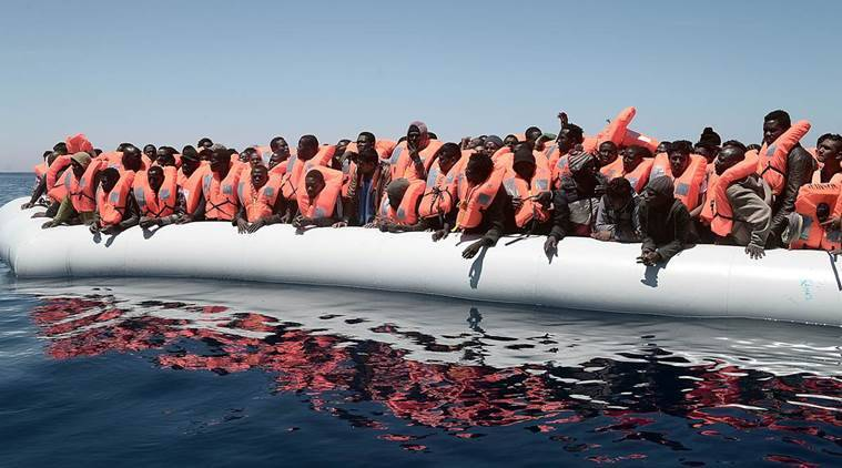Humanitarian groups rescue over 1,000 migrants in the Mediterranean sea; twodie