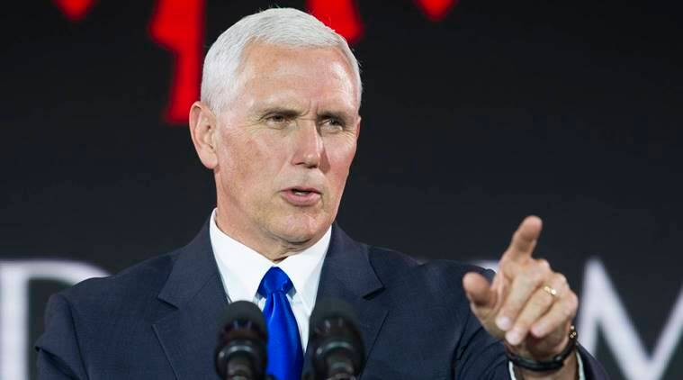 Mike Pence, us vice-president, world news, indian express news