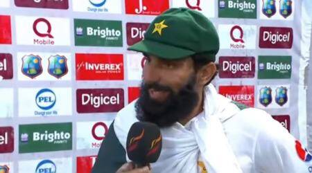 Misbah-ul-Haq's emotional farewell speech after playing last Test for Pakistan, watch video