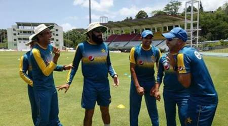 Misbhah-ul-Haq, Younis Khan, Misbhah-ul-Haq Younis Khan, Pakistan squad, Pakistan vs West Indies, Misbhah-ul-Haq retirement, Younis Khan retirement, Wahab Riaz, Mohammad Amir, Ahmed Shezad, sports news, sports, Indian Express