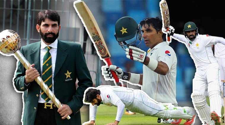 Misbah-ul-Haq, Misbah, Misbah-ul-Haq career, Misbah-ul-Haq Test career, Misbah-ul-Haq Pakistan, Cricket news, Cricket, Sports news, Sports, Indian Express