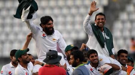 Twitterati hail Pakistan greats Misbah-ul-Haq and Younis Khan after historic win over West Indies in last Test