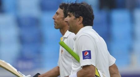 Pakistan vs West Indies, Misbah and Younis retirement, PAK vs WI, Misbah-ul -Haq, Younis Khan, Yuvraj Singh, India, Pakistan, Roston Chase, sports news, cricket news, indian express