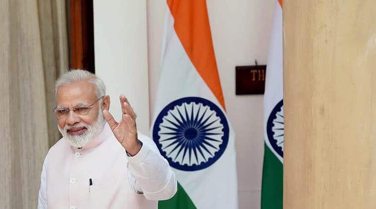 narendra modi, modi four nation tour,modi tour begins