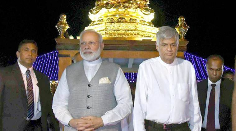 narendra modi, modi sri lanka, india-lanka deals, Mahinda Rajapaksa,Vesak Day celebrations, Un vesak day, india news, latest news, modi news
