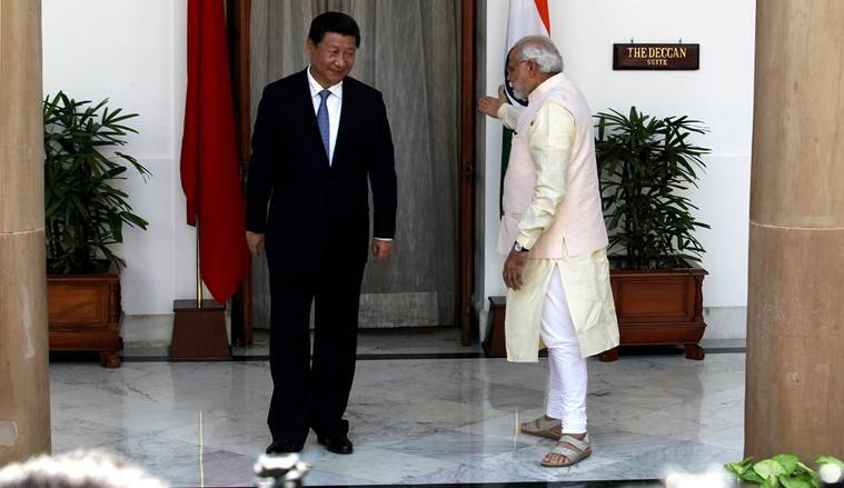 Narendra Modi, Modi three years, OBOR, Xi Jinping, India China ties, India South east ties,