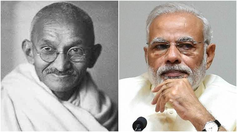 Narendra Modi, Modi, PM Modi, mahatma Gandhi, Three years of Modi government, Manmohan singh, India,