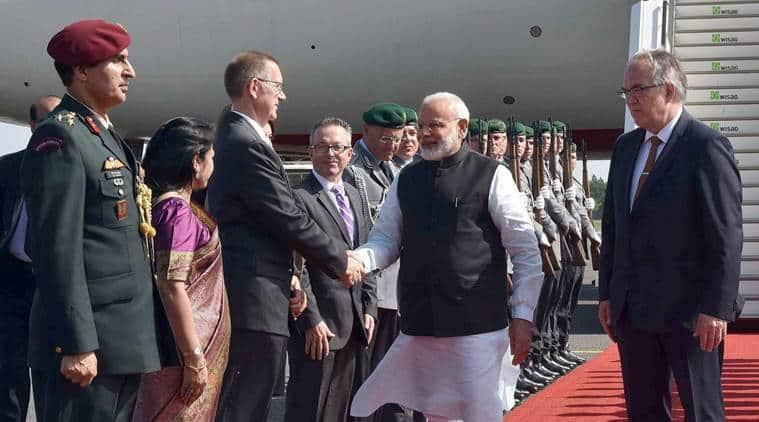 Prime Minister Narendra Modi, Modi in Germany, Angela Merkel, Modi four-nation tour
