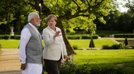 Had a very good interaction with German Chancellor Angela Merkel: PM Narendra Modi