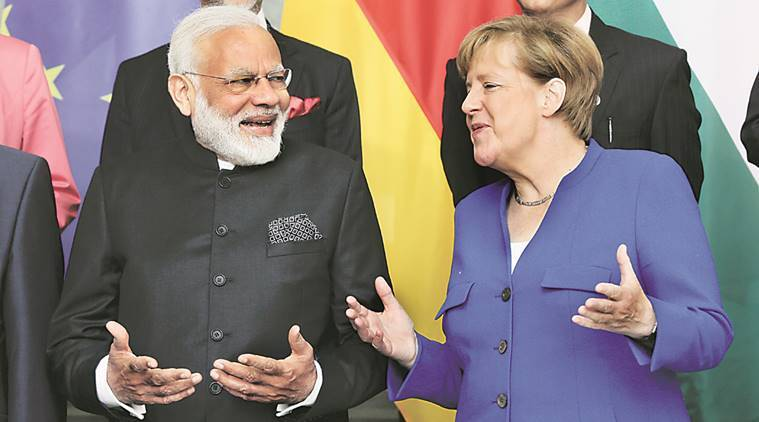 Narendra Modi, Angela Merkel, Modi germany visit, modi europe visit, india news