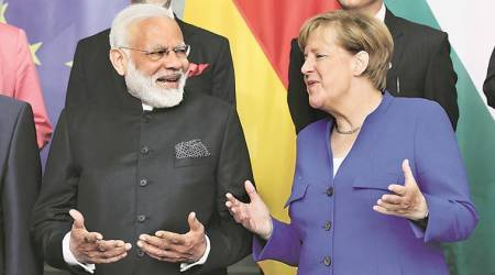 Narendra Modi, Angela Merkel, Modi germany visit, modi europe visit, india news