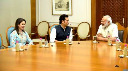 Sachin Tendulkar meets Prime Minister Narendra Modi ahead of release of film