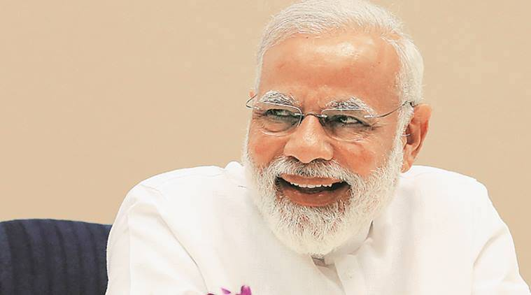 Prime Minister Narendra Modi, PM, Narendra Modi, Health sector, GDP, Indian Express News