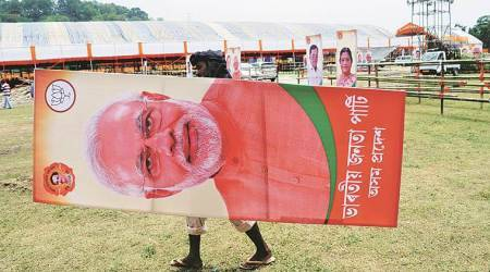 On govt anniversary, PM Modi rally in Assam