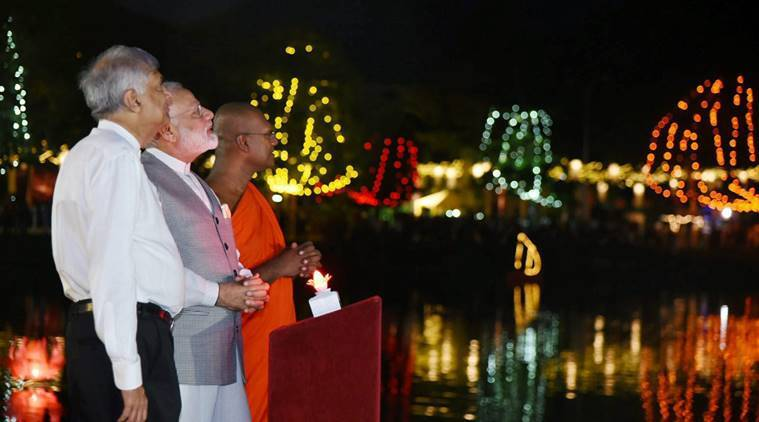 india, sri lanka, india-sri lanka, international vesak day, buddha, enlightenment, digboi refinery, sri lanka news, buddhism, world news, india news, indian express