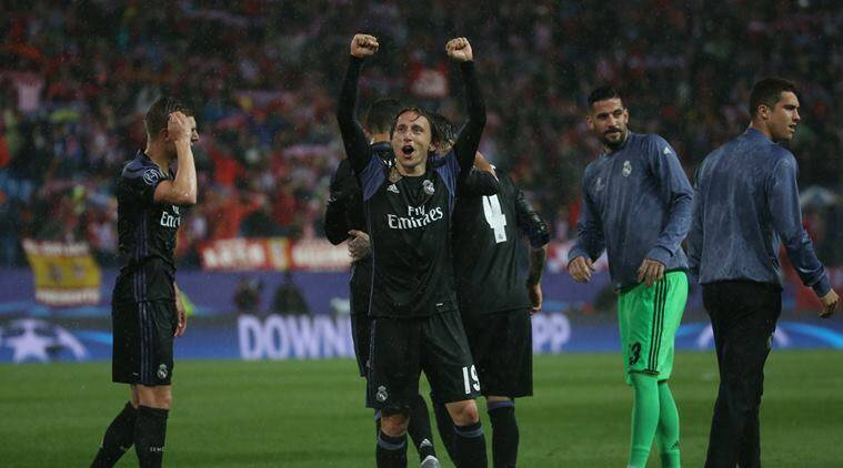 Real Madrid, Atletico Madrid, Madrid derby, Champions League, Champions League semifinals, UEFA Champions League, Juventus, Isco, Cristiano Ronaldo, football, sports news, Indian Express